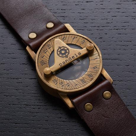 Pandeia Totem Sundial Wrist Watch // PTM-T