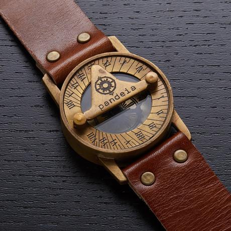 Pandeia Whiskey Sundial Wrist Watch // PTM-W