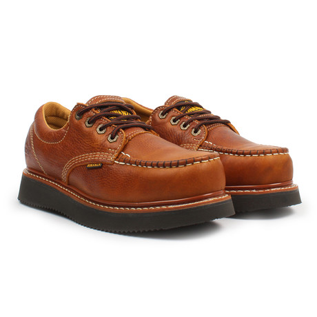 4'' Moc Toe Oxford // Light Brown (US: 6)