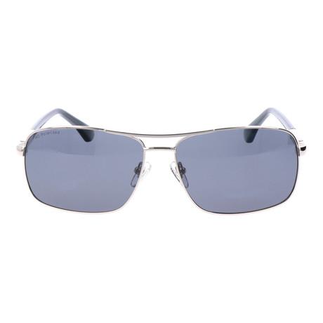 Polarized Classic Navigators // Silver + Grey