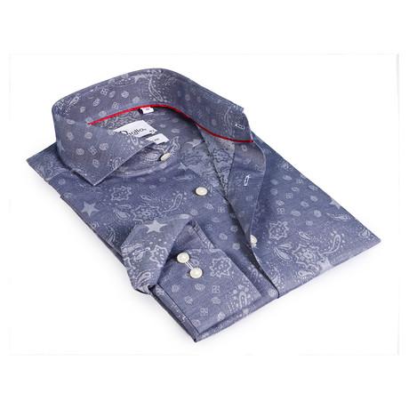 Mark Button-Up Shirt // Slate