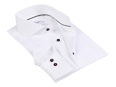 Photo of Finollo Contemporary Dress Shirts Ross Button-Up Shirt // White (US: 16.5R) by Touch Of Modern