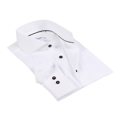 Ross Button-Up Shirt // White (US: 15R)