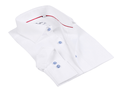 Photo of Finollo Contemporary Dress Shirts Brian Button-Up Shirt // White (US: 15R) by Touch Of Modern