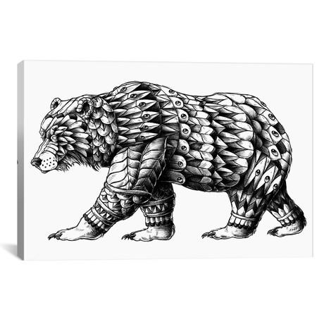 "Cali Bear (18""W x 26""H x 0.75""D)"