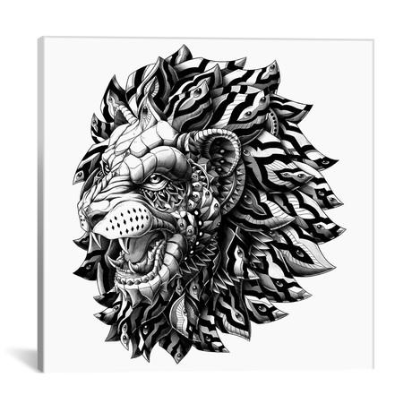 """Lion // Bioworkz (18""""W x 18""""H x 0.75""""D)"""