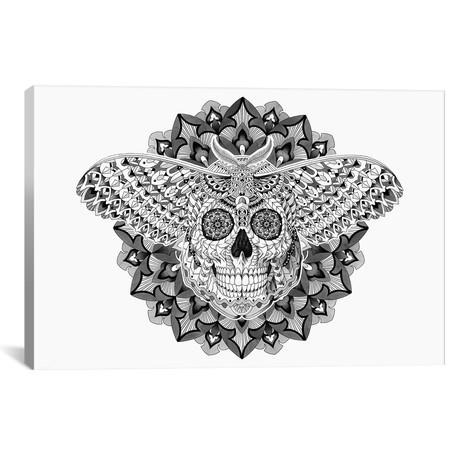 """Skull Moth // Bioworkz (18""""W x 26""""H x 0.75""""D)"""