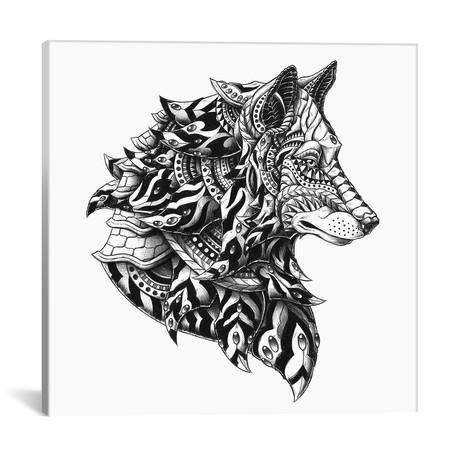"Wolf Profile (18""W x 18""H x 0.75""D)"