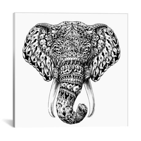 Ornate Elephant Head
