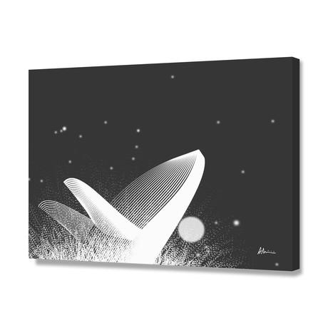 Whale BW // Canvas