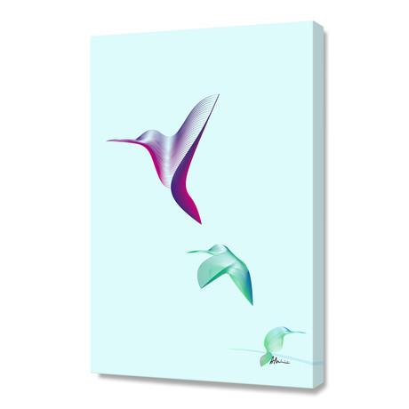 Hummingbirds // Canvas