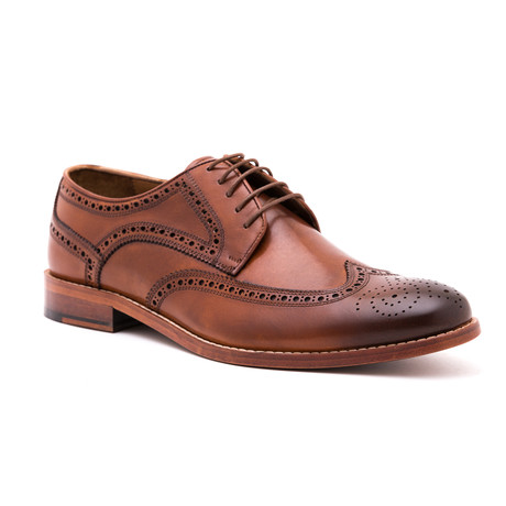 Antique Wing-Tip Derby // Tobacco (Euro: 39)