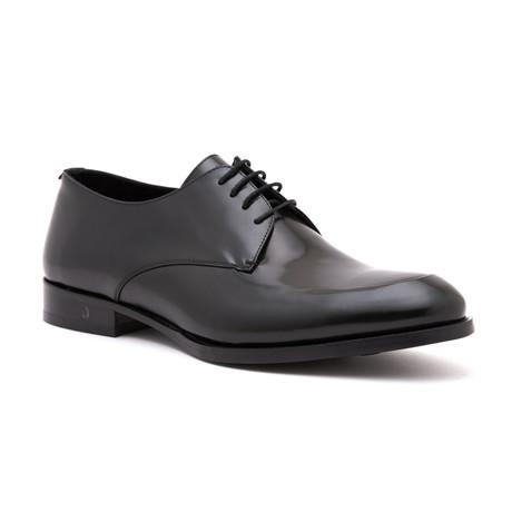 Polished Apron Derby // Black