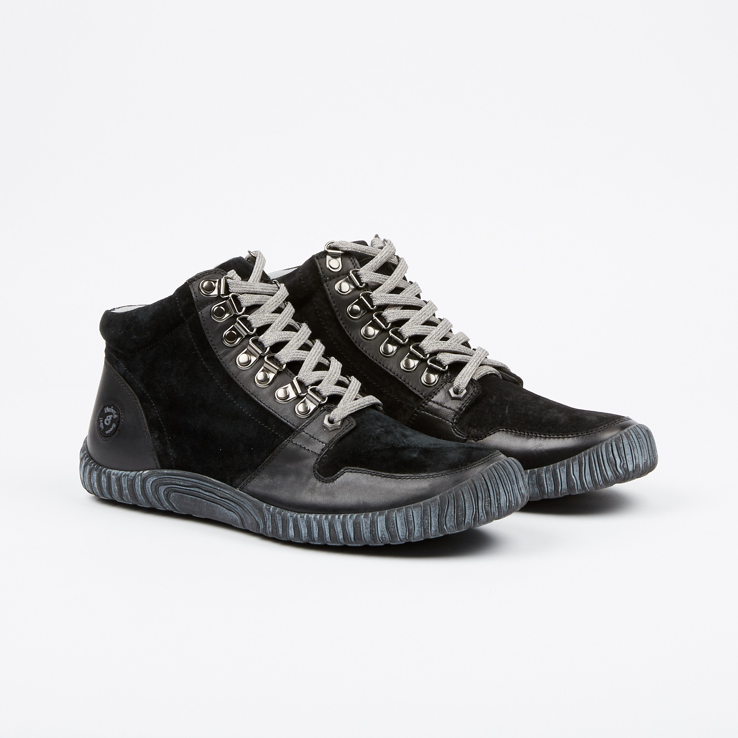 Hybrid Green Label 2.0 Maison Leather High-Top Sneaker DX2SNT