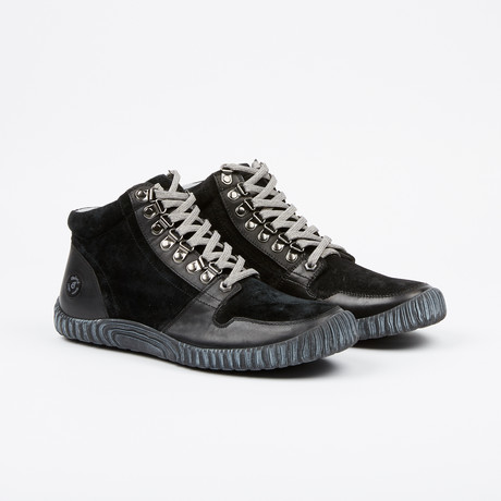 2.0 Maison High-Top Sneaker // Black