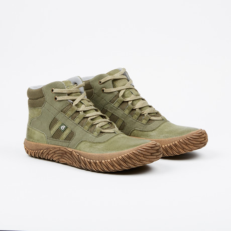 Fearless Ill High-Top Sneaker // Olive