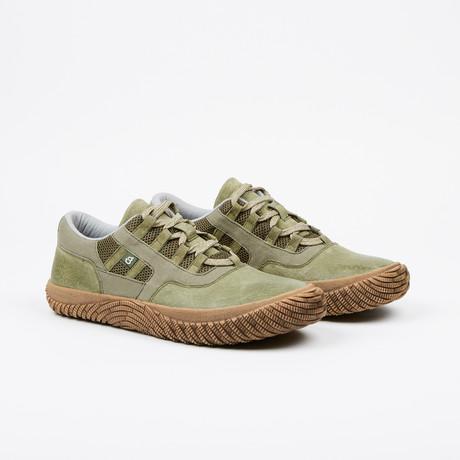 Rebellion III Low-Top Sneaker // Olive