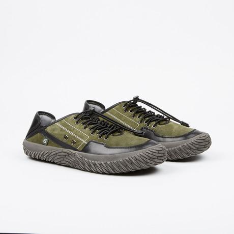 Lethal Adventure Low-Top Sneaker // Olive + Black