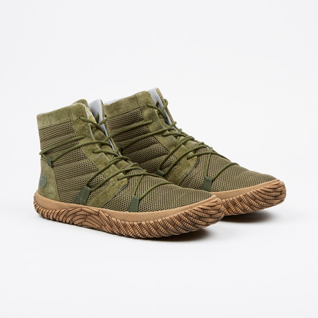 Revolution High-Top Sneaker // Army Green