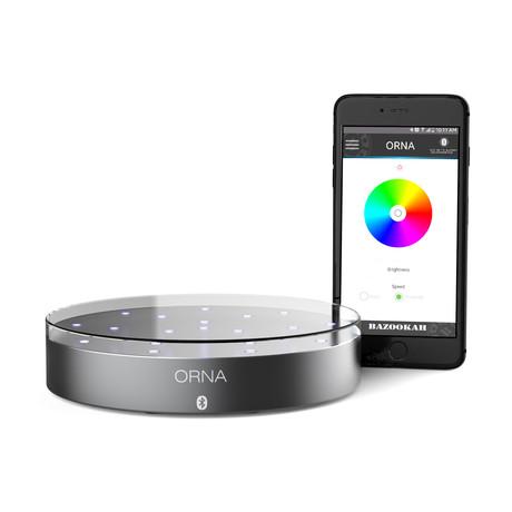 Orna // LED-RGB Bluetooth Lightning Base