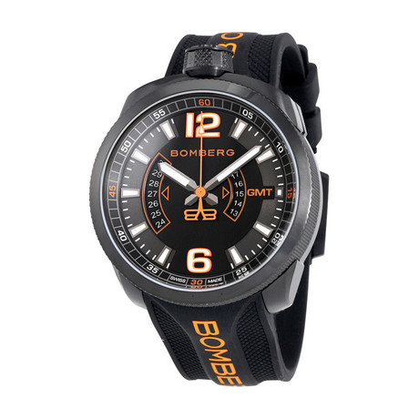 Bomberg Bolt-68 GMT Quartz // BS45GMTPBA.026.3