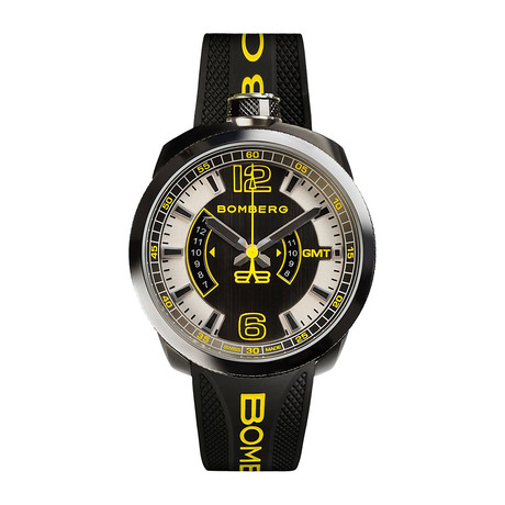 Bomberg BOLT-68 GMT Quartz // BS45GMTSP-027-3