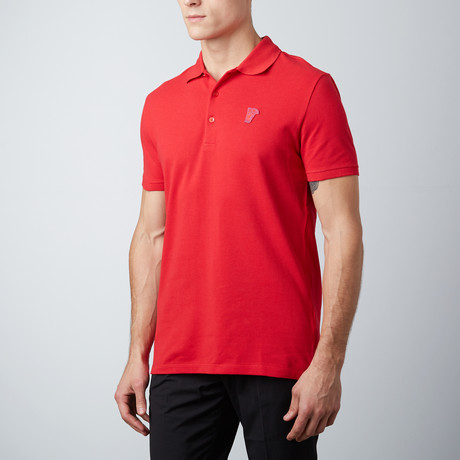 Patch Logo Polo // Red (S)