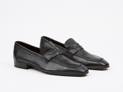 Fertini Dress Shoes Loafers + Slippers Apron Penny Loafer // Black (us: 7)