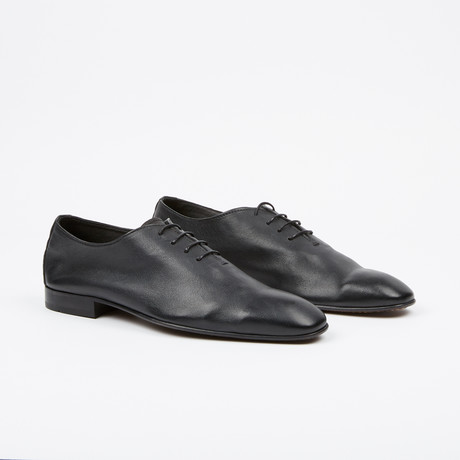 Plain Toe Oxford // Black (US: 7)
