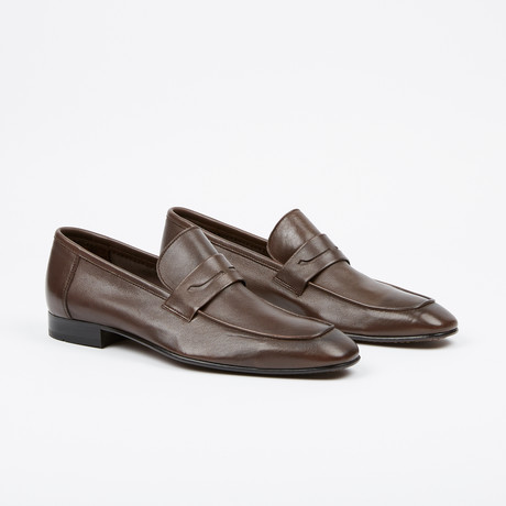Apron Penny Loafer // Brown (US: 7)