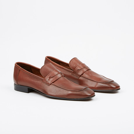 Apron Penny Loafer // Tobacco (US: 7)