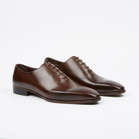 Handpainted Oxford // Brown (US: 7)
