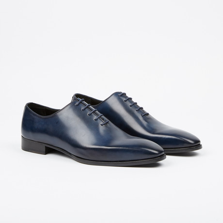 Handpainted Oxford // Navy (US: 7)