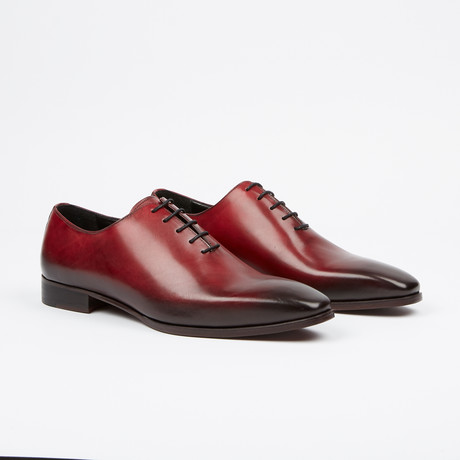 Handpainted Oxford // Red (US: 7)