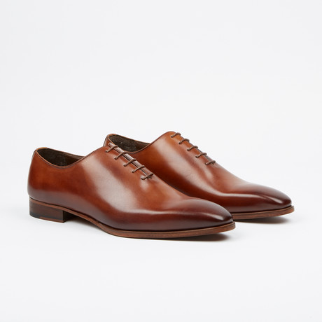 Handpainted Oxford // Tobacco (US: 7)