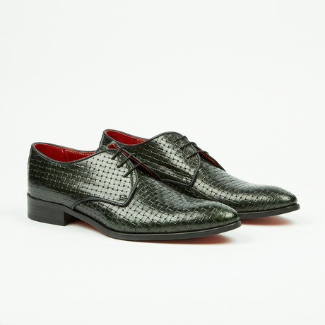 Woven Derby // Green (US: 7)
