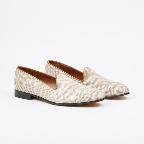 Textured Loafer // Beige (US: 7)
