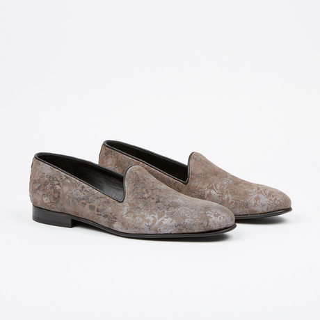 Suede Loafer // Grey (US: 7)