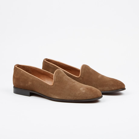 Suede Loafer // Light Brown (US: 7)