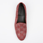 Printed Loafer // Red (US: 7)