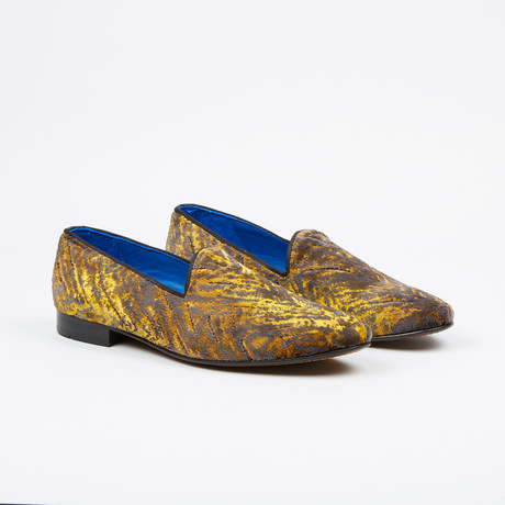 Velvet Loafer // Yellow (US: 7)