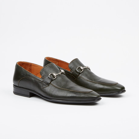 Buckle Loafer // Green (US: 7)