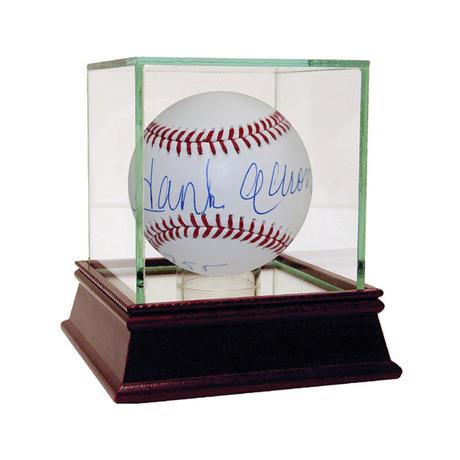 Hank Aaron Signed MLB Baseball