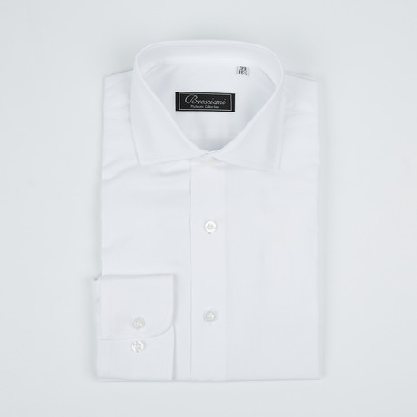 Paolo Lercara // Modern Fit Button-Up Shirt // White (US: 15R)
