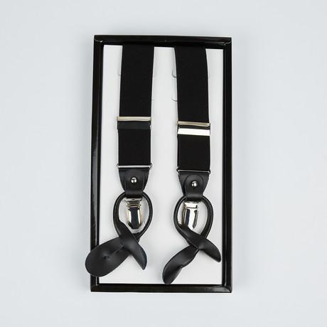 Paolo Lercara // Suspenders // Black