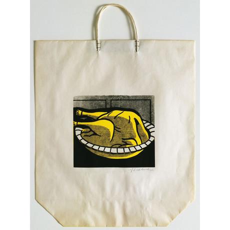 Roy Lichtenstein // Turkey Shopping Bag // 1969