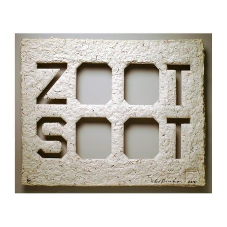 Ed Ruscha // Zoot Suit // 2015