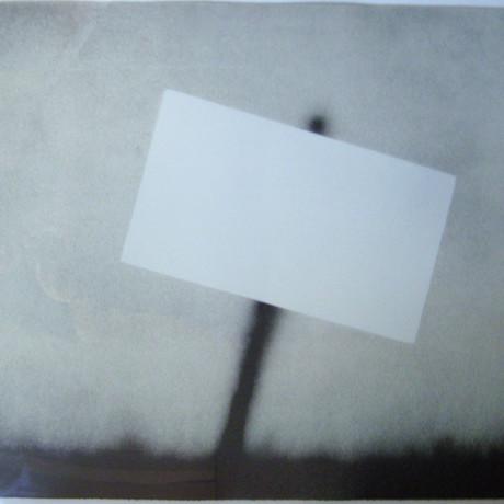 Ed Ruscha // Untitled (Blank Sign) // 1989