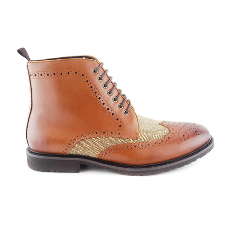 Noonbrough Lace-Up Boot // Tan (Euro: 44)
