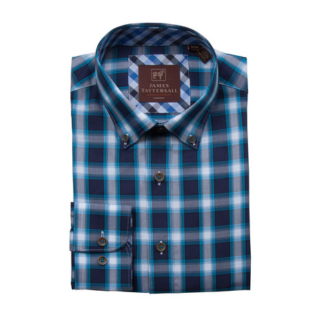 Wishbourne Button-Up // Teal